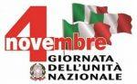 Celebrazione del IV Novembre Giornata dell'Unità Nazionale e delle Forze Armate